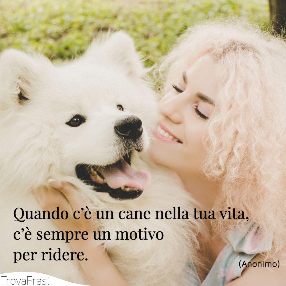 Quando c'è un cane nella tua vita, c'è sempre un motivo per ridere.