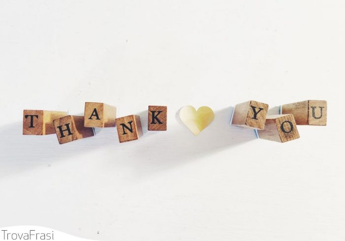 Come ringraziare