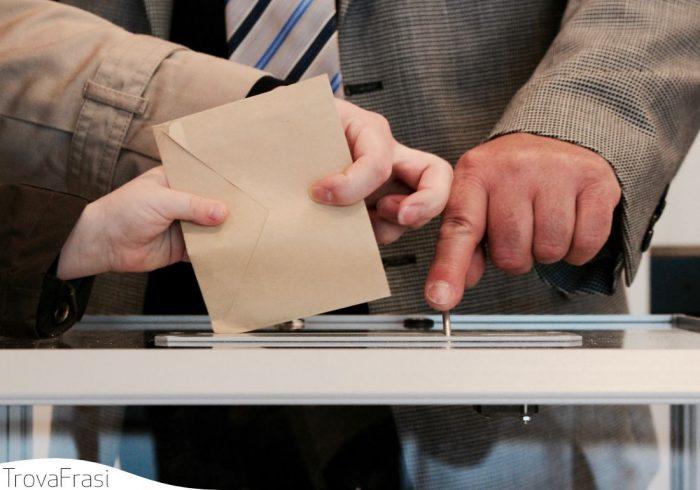 Frasi sulle elezioni