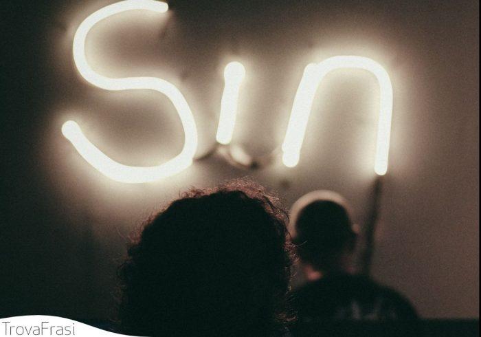 frasi sui peccati
