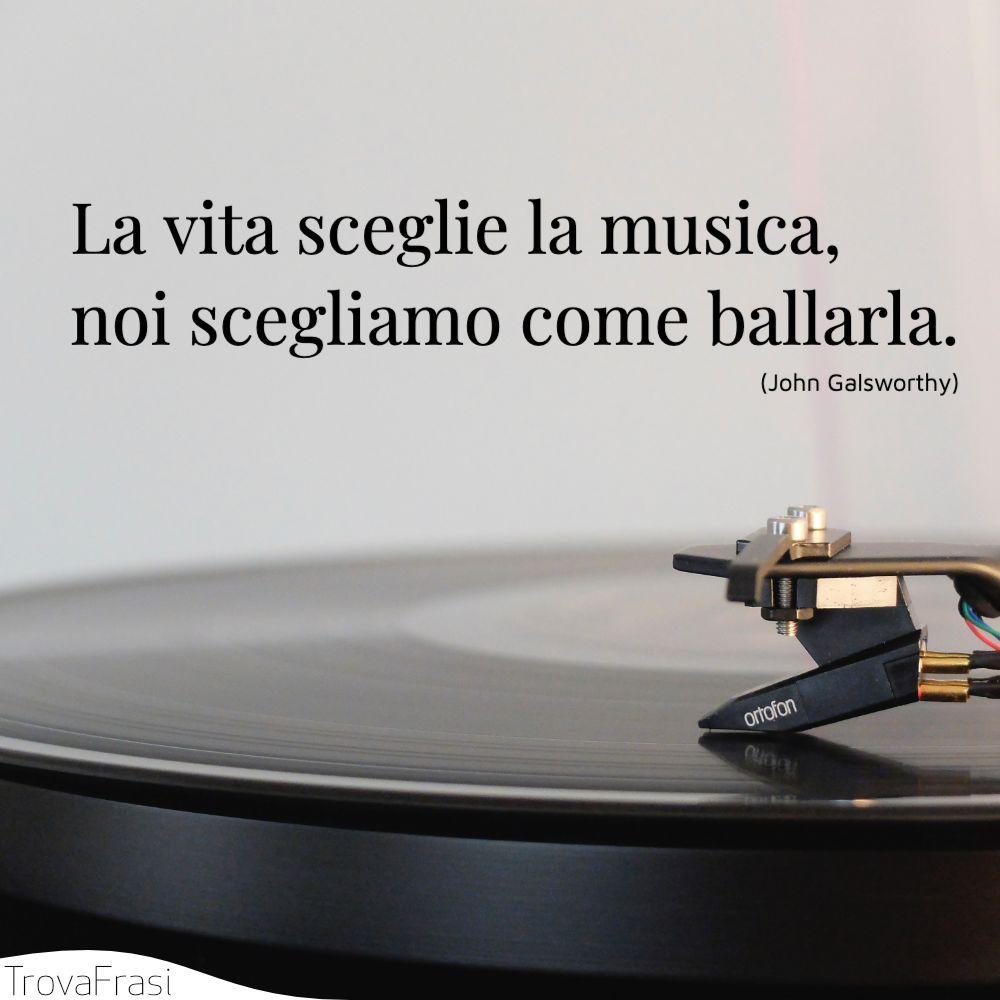 La vita sceglie la musica, noi scegliamo come ballarla.