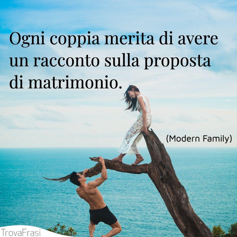 Ogni coppia merita di avere un racconto sulla proposta di matrimonio.