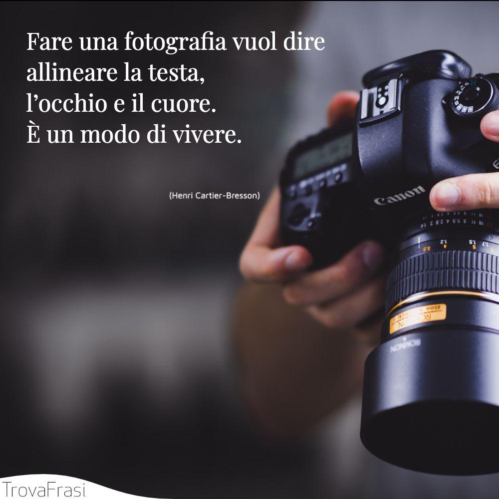 Frasi sulla fotografia: l'arte di saper catturare l'attimo - TrovaFrasi