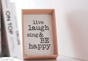 keep calm & be happy