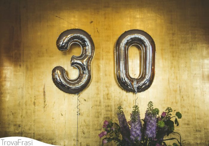 per i 30 anni