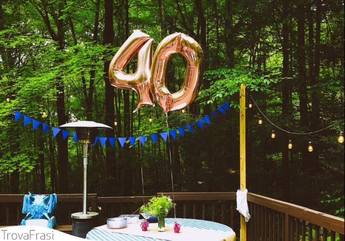per i 40 anni
