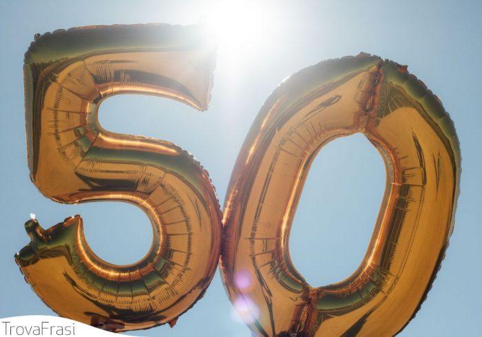 per i 50 anni
