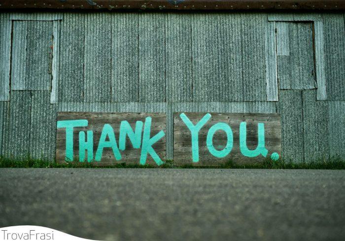 ringraziamento per gli auguri
