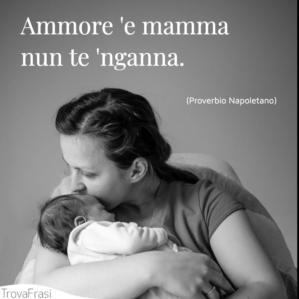Ammore 'e mamma nun te 'nganna.